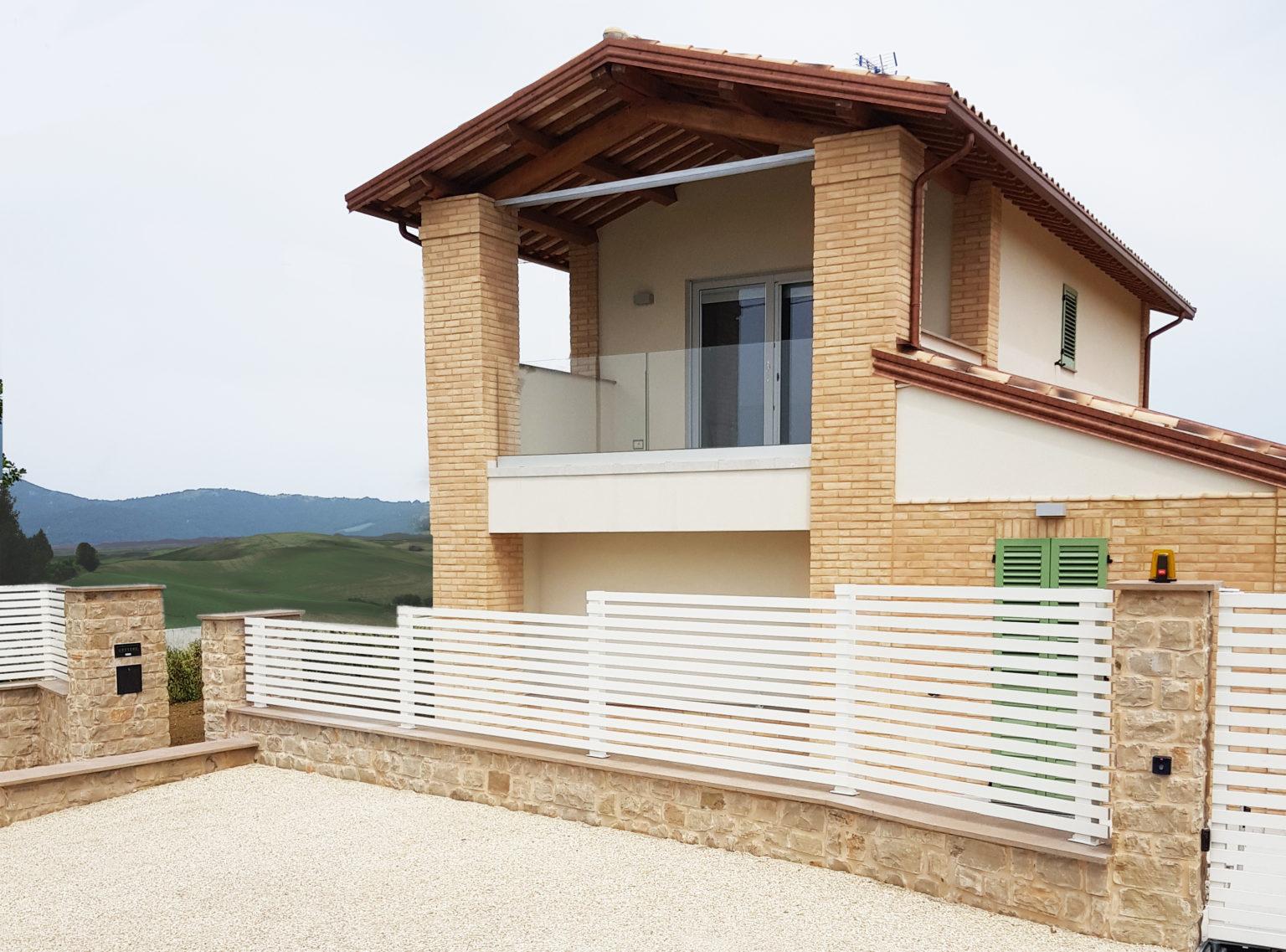 Parapetti e recinzioni in alluminio 1
