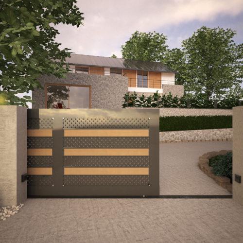 cancello moderno (9)