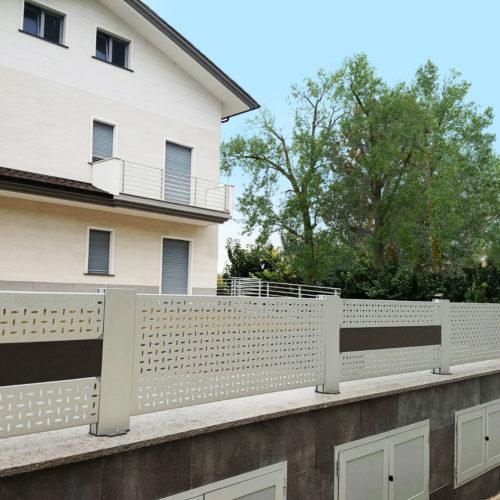 Parapetti e recinzioni in alluminio 3
